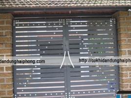 Mẫu cổng sắt đẹp, phong cách 003