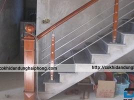 Cầu thang sắt CTS01