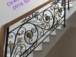 Cầu thang sắt nghệ thuật Hải Phòng