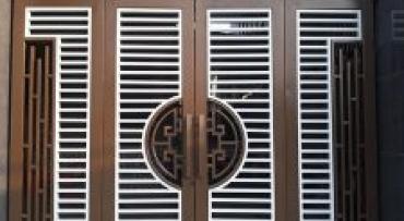 Đồng Tiến-  Thiết kế cổng sắt đẹp, hiện đại, mới nhất năm 2020