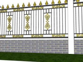Hàng rào sắt sang trọng- giá cạnh tranh