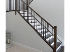 Cầu thang sắt đẹp 11