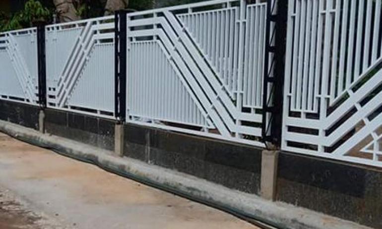 Hàng rào sắt 13